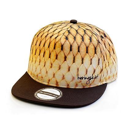 heringsküt - Pescador Gorra Gorro I Baseballcap Hat para Pescadores Gorra de Pesca Snapback Ropa de