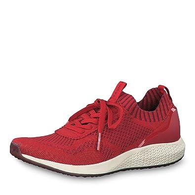Tamaris Fashletics Damen Sneaker Rot