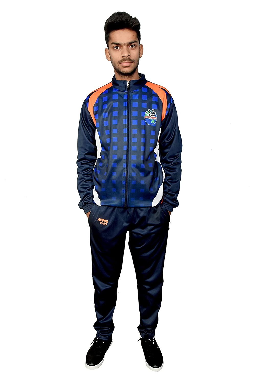 708fddc7caa6f APPSS Sports Printed Tracksuit for Men, Track Suits for Mens ...
