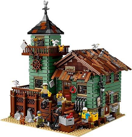 Amazon Com Lego Ideas Old Fishing Store 21310 Building Toy
