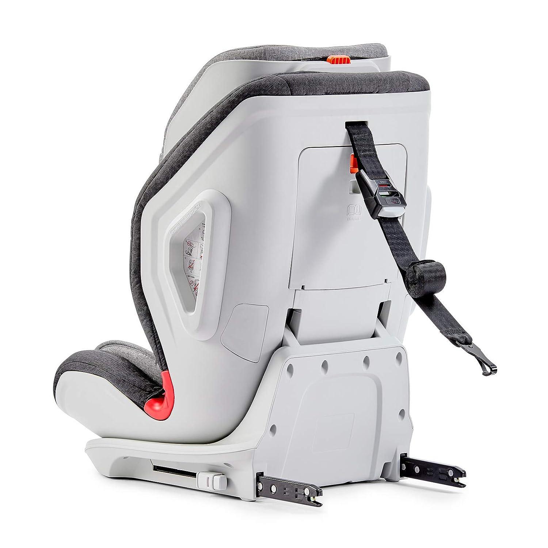 Kinderkraft Oneto3 silla de coche con ISOFIX de 9 a 36 kg grupo 1 2 3 gris