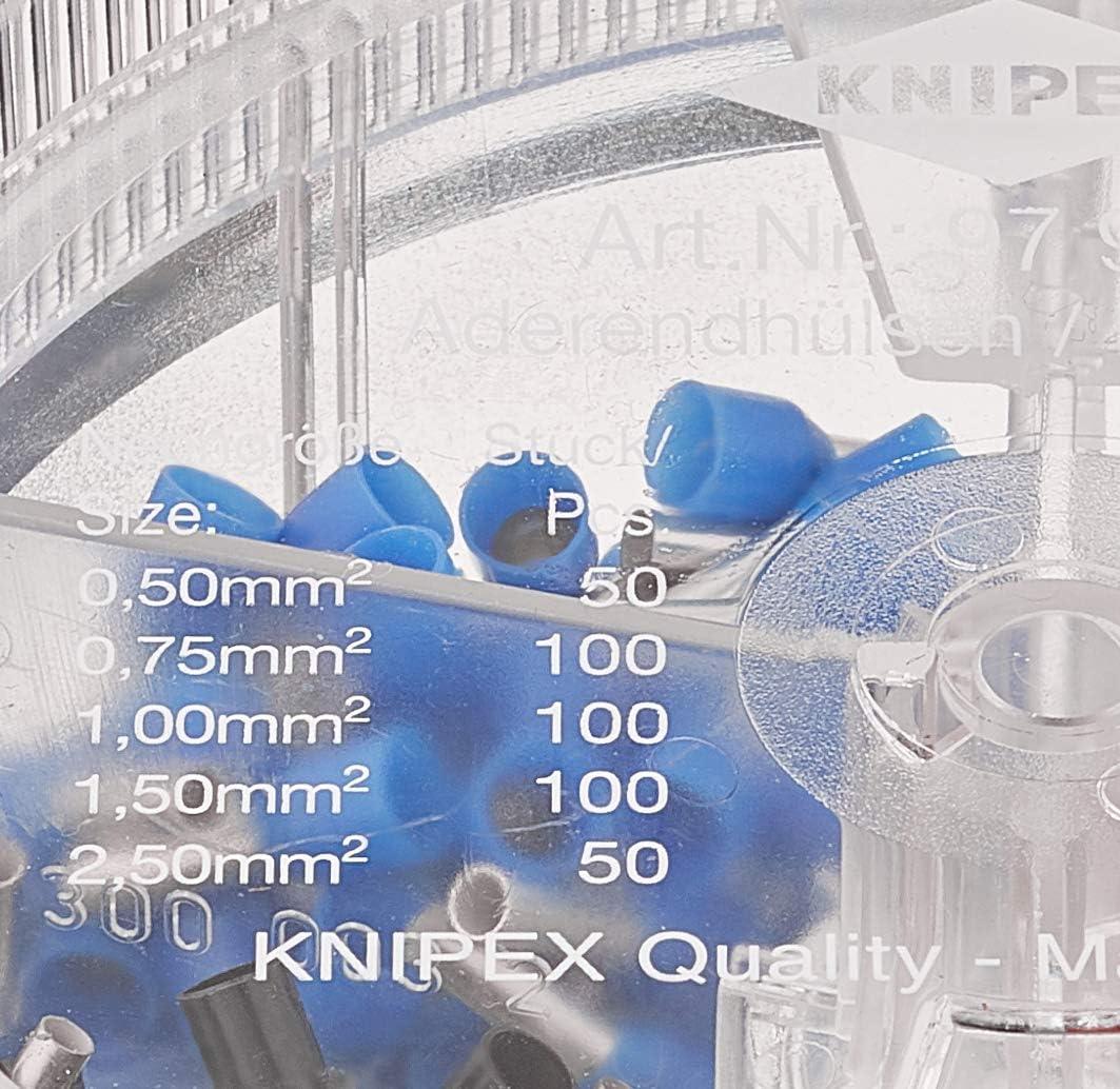 Knipex Sortimentsboxen Mit Isolierten Aderendhülsen 97 99 906 Baumarkt