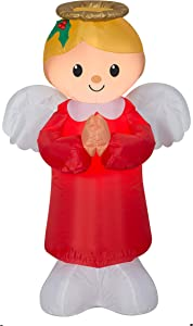 Holiday Time Christmas Angel Inflatable