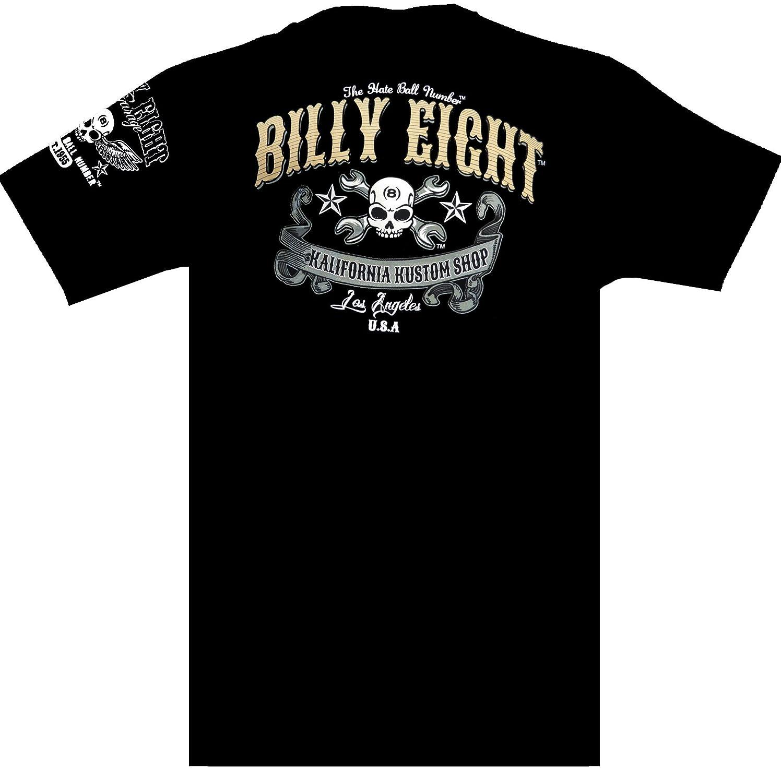 Billy Eight Engine Pressure t-Shirt Biker Moto S//M//L//XL//XXL