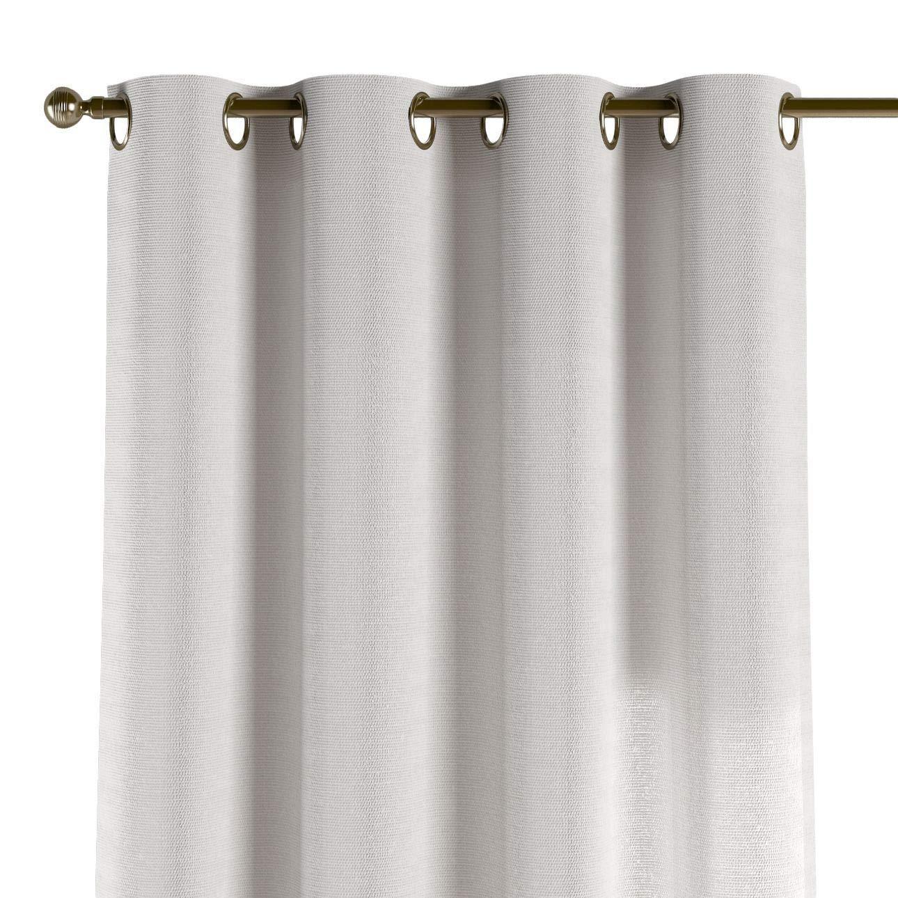Dekoria Ösenschal Dekoschal Blickdicht 1 Stck. 130 × 260 cm weiß Maßanfertigung möglich