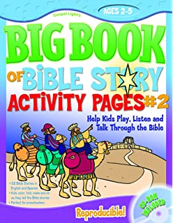 The Big Book Of Bible Story Activity Pages 2 With CD ROM