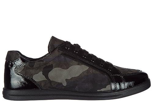 Prada Scarpe Sneakers Donna Nuove Originale Camouflage Grigio  Amazon.it  Scarpe  e borse 1f859d70916