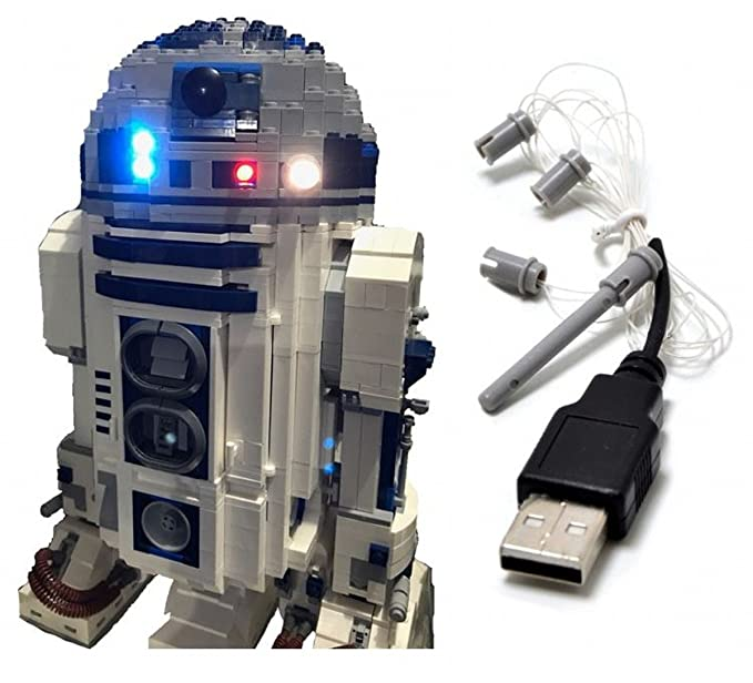LED Beleuchtung 10220 Campingbus Licht Kit für Lego T1 VW Free USB Kabel DHL