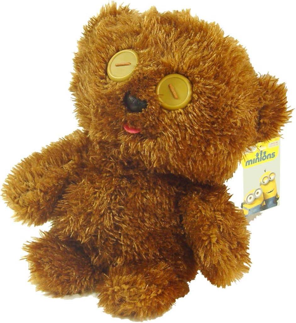 pts 9144D despicable me de la felpa de 30cm esbirros bob oso supe: Amazon.es: Juguetes y juegos
