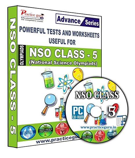 Sure shot question bank - 16 Tests - NSO Class 5 + Previous