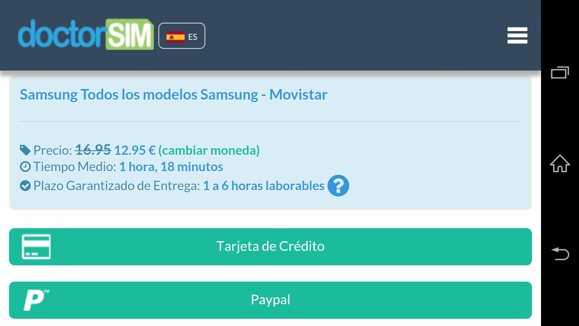 Liberar Móvil por IMEI: Amazon.es: Appstore para Android