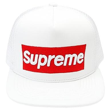 1c8a97c65e0 Supreme Men s Baseball Cap - white -  Amazon.co.uk  Clothing