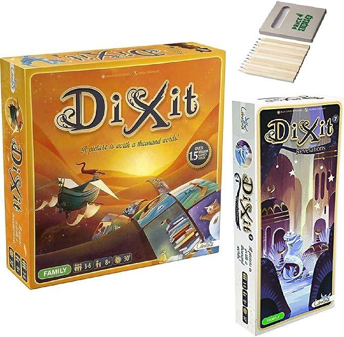 Price Toys Dixit Juego de Mesa y Expansion Pack 7: Revelaciones (Dixit y Expansión 7): Amazon.es: Juguetes y juegos