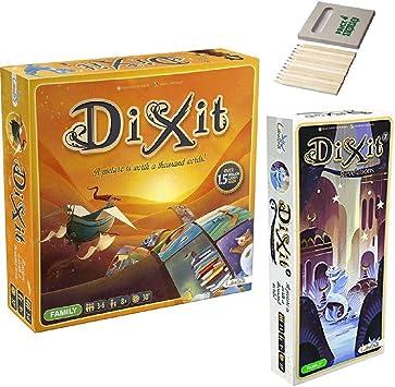 Price Toys Dixit Juego de Mesa y Expansion Pack 7: Revelaciones ...