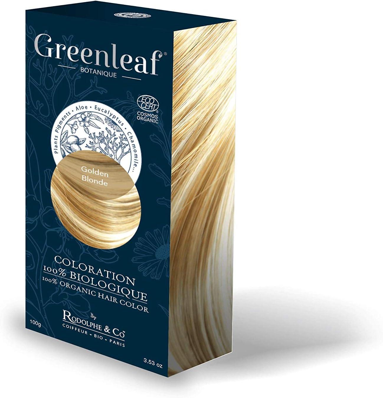 Greenleaf Coloración 100% biológica 100 g – Golden Rubio