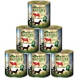 Dehner Best Nature Hundefutter, Adult Rind und Reis mit Distelöl