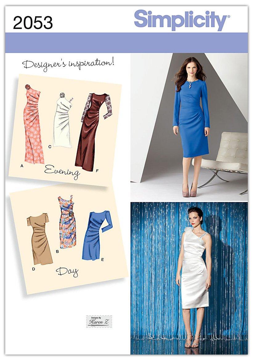Evening Dress Patterns Sewing: Amazon.co.uk