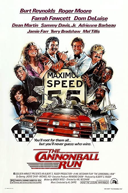 Posters USA MCP160 The Cannonball Run Movie Poster Glossy Finish