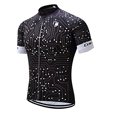 c7aeee50e Coconut Ropamo Summer Men Cycling Jersey Road Bike Shirt Short Sleeve  Breathable 100% Polyester (