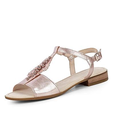 Gabor 82.794-65 Damen Sandale aus Veloursleder Verstellbare Riemchen  Gabor  Comfort  Amazon.de  Schuhe   Handtaschen d5f7982925