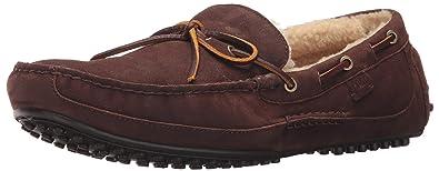 Polo Ralph Lauren Mens Wyndings-S Loafer, Dark Charcoal/Natural, ...