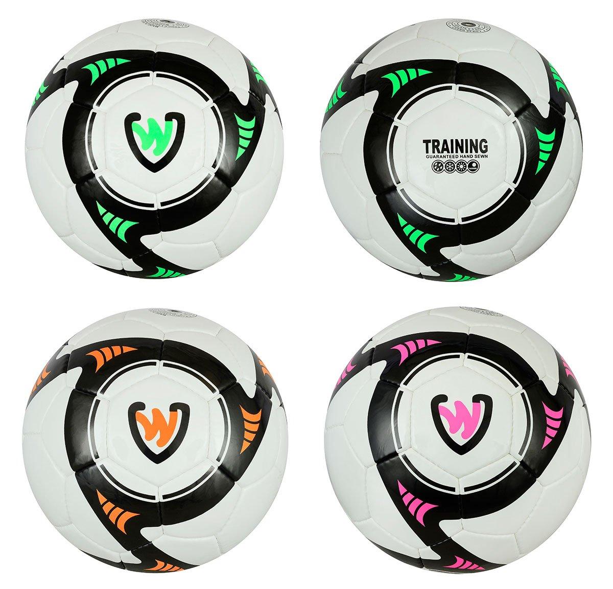 germanwear deft Fútbol Tamaño 5PU/PVC 1.3mm Balón de entrenamiento, unisex, naranja German Wear