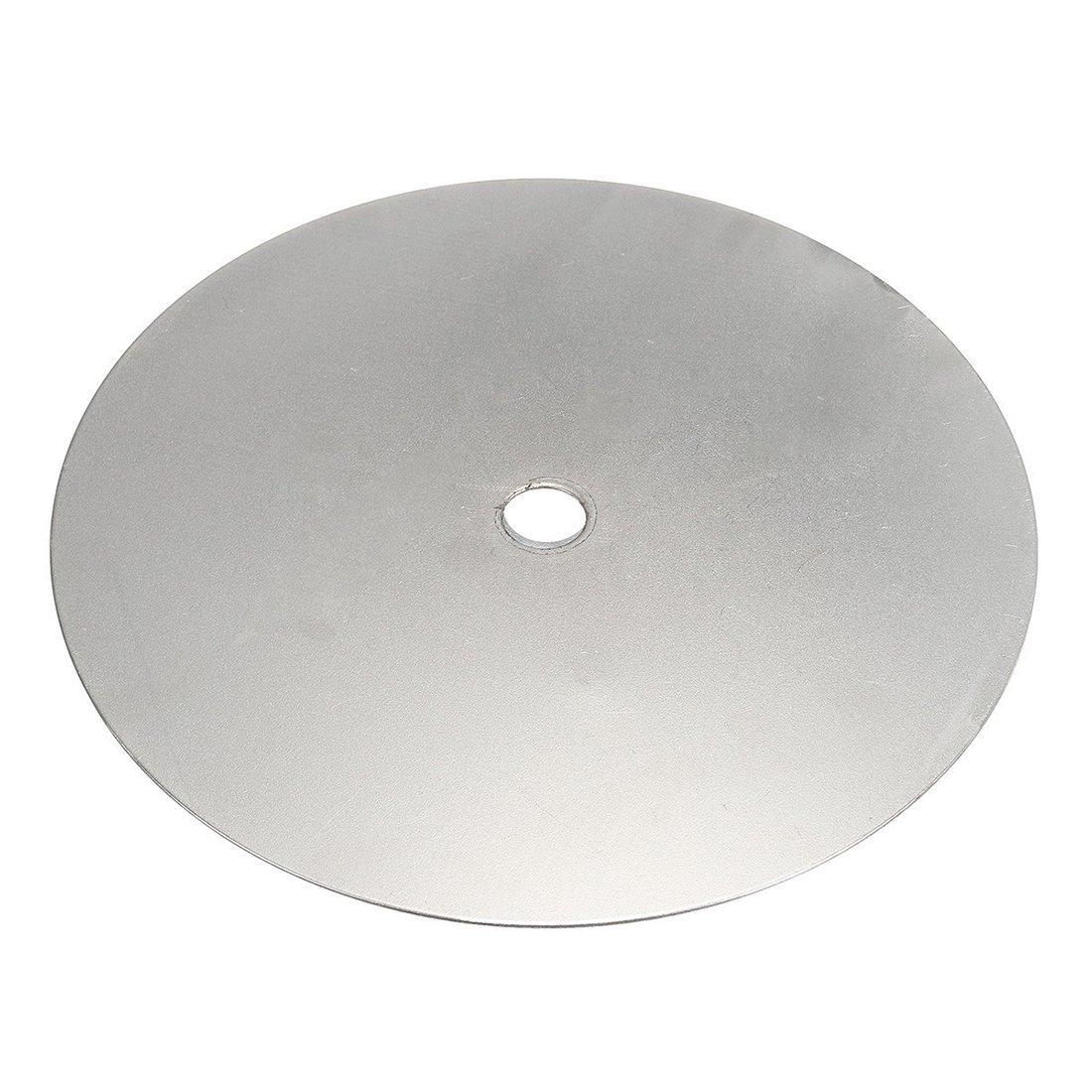 "6/"" inch Grit 240 Diamond coated Flat Lap wheel Lapidary grinding polishing disc"