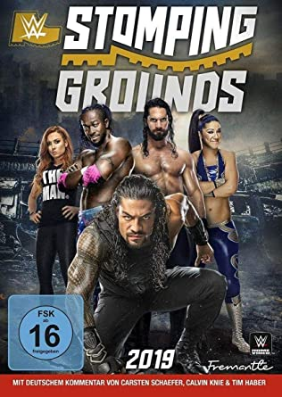 WWE - Stomping Grounds 2019 [Alemania] [DVD]: Amazon.es: Rollins, Seth, Corbin, Baron, Rollins, Seth, Corbin, Baron: Cine y Series TV