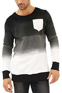 trueprodigy Casual Herren Marken Sweatshirt Aufdruck Oberteil Cool Stylisch Rundhals Kapuze Langarm Slim Fit Sweatshirt Männer, Größe:XL,