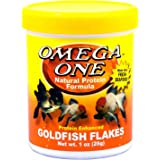 Omega One Goldfish Flakes, 1 oz.