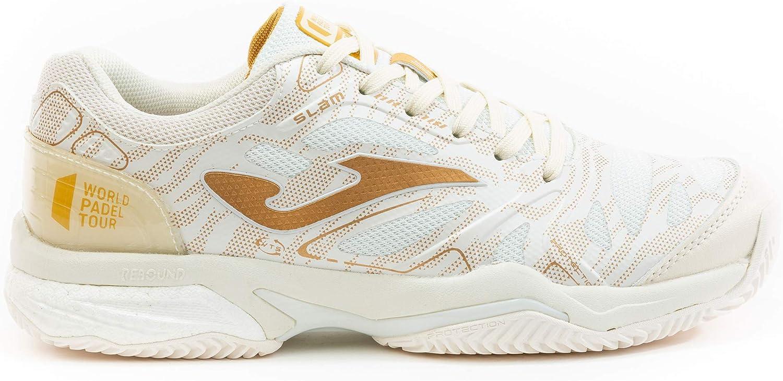 Joma Zapatillas Slam 2025 Beige-Gold WPT Clay