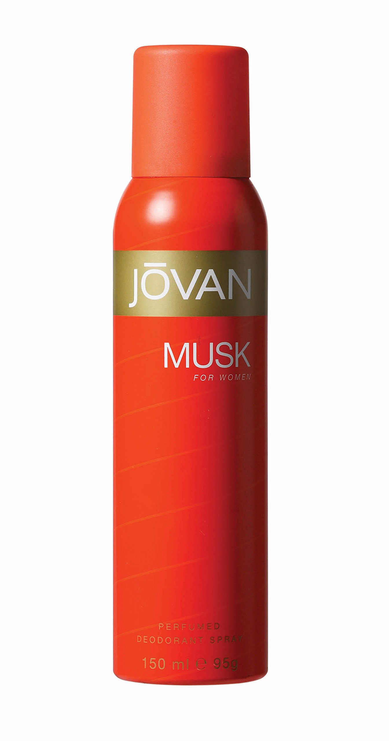 Jovan Deodorant Spray for Women, Musk, 5 Ounce