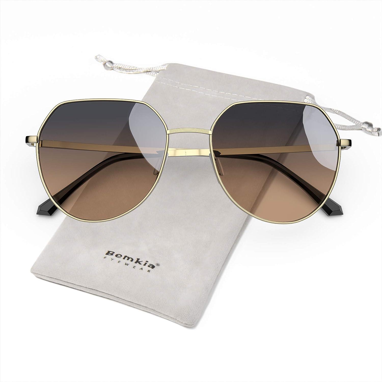 Jocelyn Womens Sunglasses Polarized Brown Cat-3 UV400 Lenses