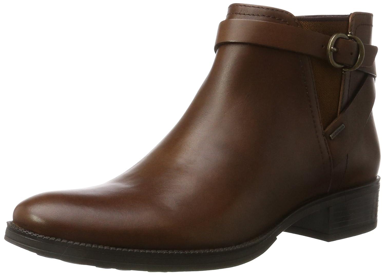 Geox Women's Mendi Np ABX 3 Ankle Bootie B06Y2TRXQL 41 M EU / 10.5 B(M) US|Brown