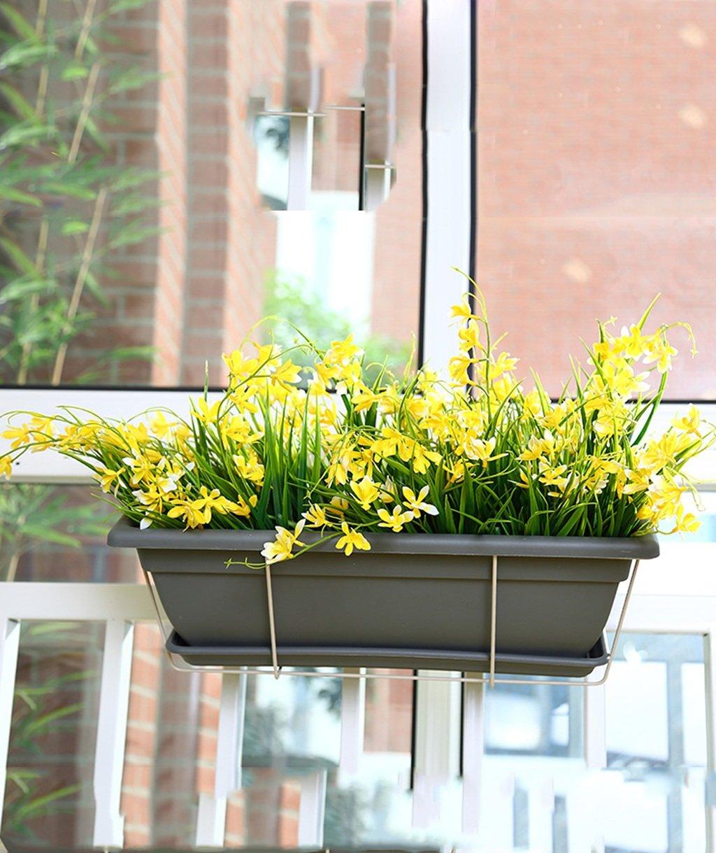 LB huajia ZHANWEI Bepflanzungs-Bassin-Rahmen, einfache Moderne Geländer-hängende Blumen-Racks
