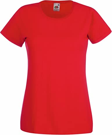 Fruit of the Loom Ladies Valueweight Camiseta para Mujer