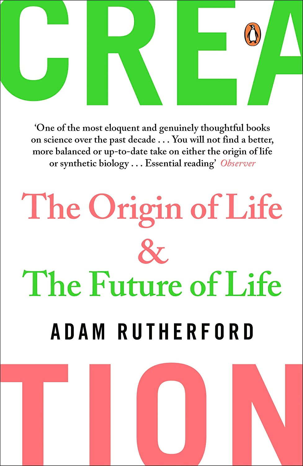 Creation: The Origin of Life / The Future of Life eBook