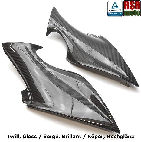 RSR moto Suzuki GSX-S1000 100% Fibra de Carbono paneles laterales embellecedores Cowls,