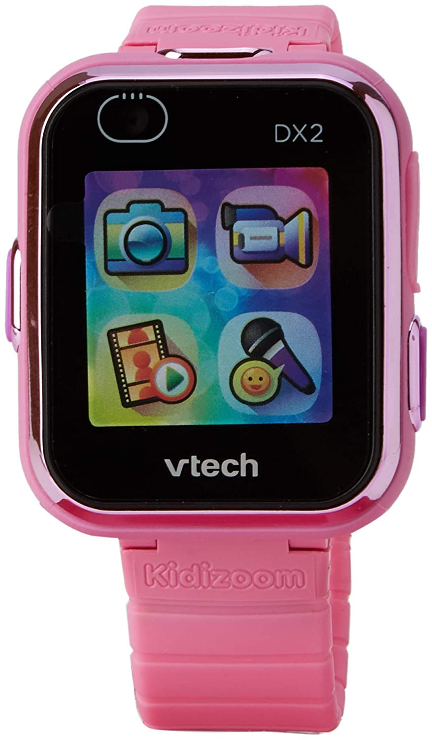 VTech Kidizoom Smart Watch DX2 - Reloj Inteligente para niños, Color Rosa, versión Inglesa (193853)