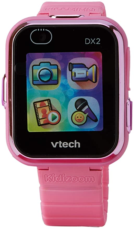 VTech 193853 Kidizoom - Reloj Inteligente DX2, Color Rosa