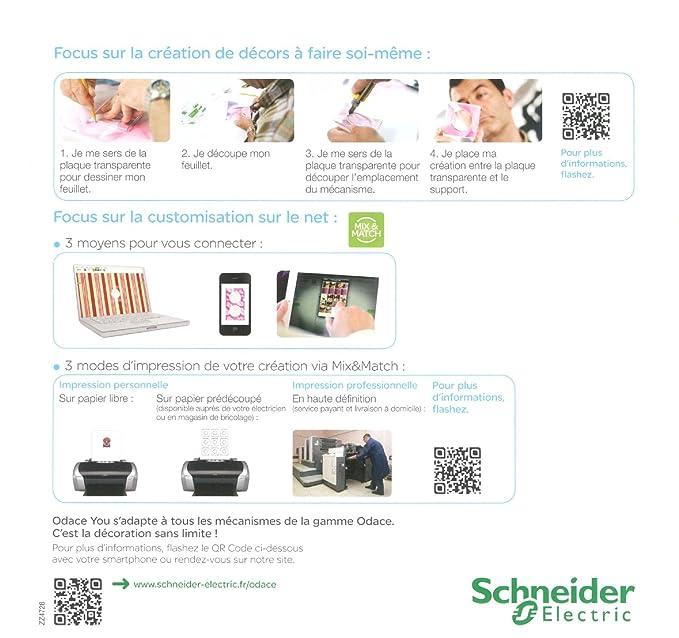 Schneider Electric SC5S52C904W - Marco embellecedor para enchufes (2 orificios), color transparente: Amazon.es: Bricolaje y herramientas