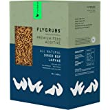 FLYGRUBS Superior to Dried Mealworms for Chickens (10 lb) - 85X More Calcium Than Meal Worms - Non-GMO Chicken Feed Additive