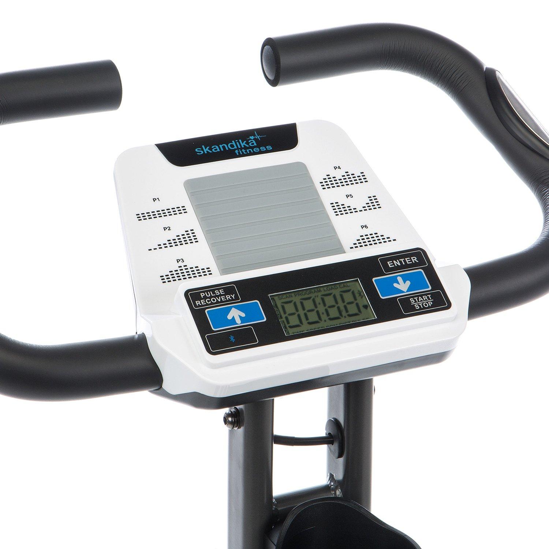 L Blanc SKANDIKA Fitness Foldaway x-2000/V/élo Fitness Pliable
