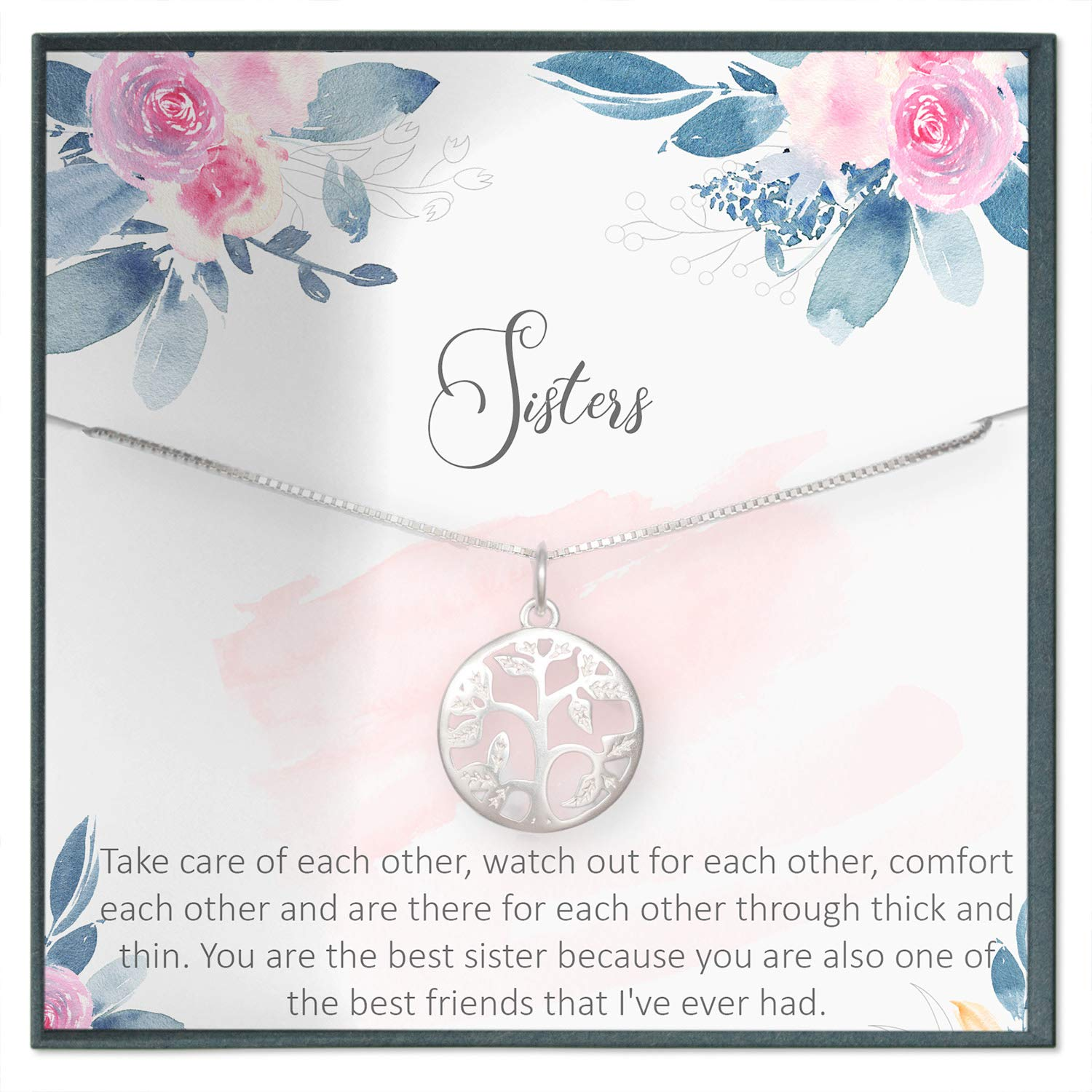 Amazoncom Sister Necklace For Sister Gift Ideas Sister
