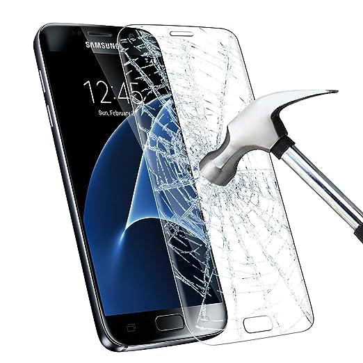 19 opinioni per Galaxy S7 Pellicola Protettiva, Infreecs Samsung Galaxy S7 Vetro Temperato [2.5D