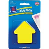Avery Sticky Notes, See-Through, Large Arrow, 2.75 x 2.75 Inches, Yellow and Magenta, 60 Sheets (22590)