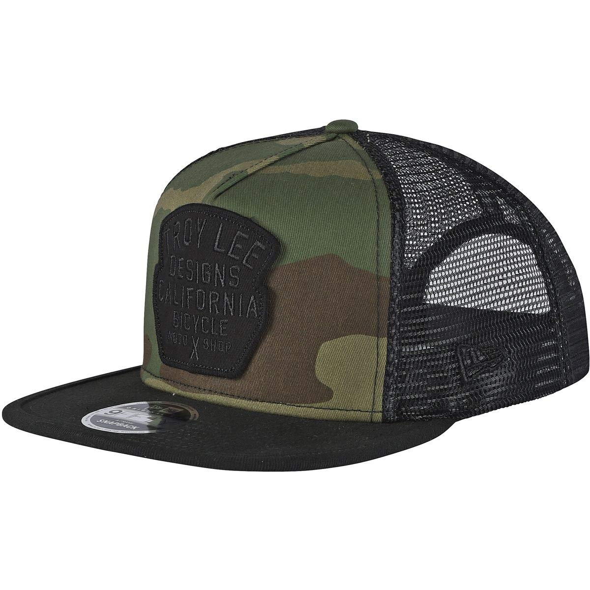7a32fc44535 Troy Lee Designs Army Granger Camo Trucker Cap  Troy Lee Designs   Amazon.co.uk  Clothing