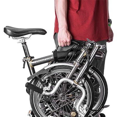 ZJY Manija de Transporte de Bicicleta Plegable, empuñadura móvil ...