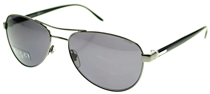 designer black sunglasses  Amazon.com: Gucci Mens UV Protection Designer Aviator Sunglasses ...
