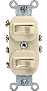 Leviton 5241I 15 Amp 120277 Volt Duplex Style SinglePole3Way
